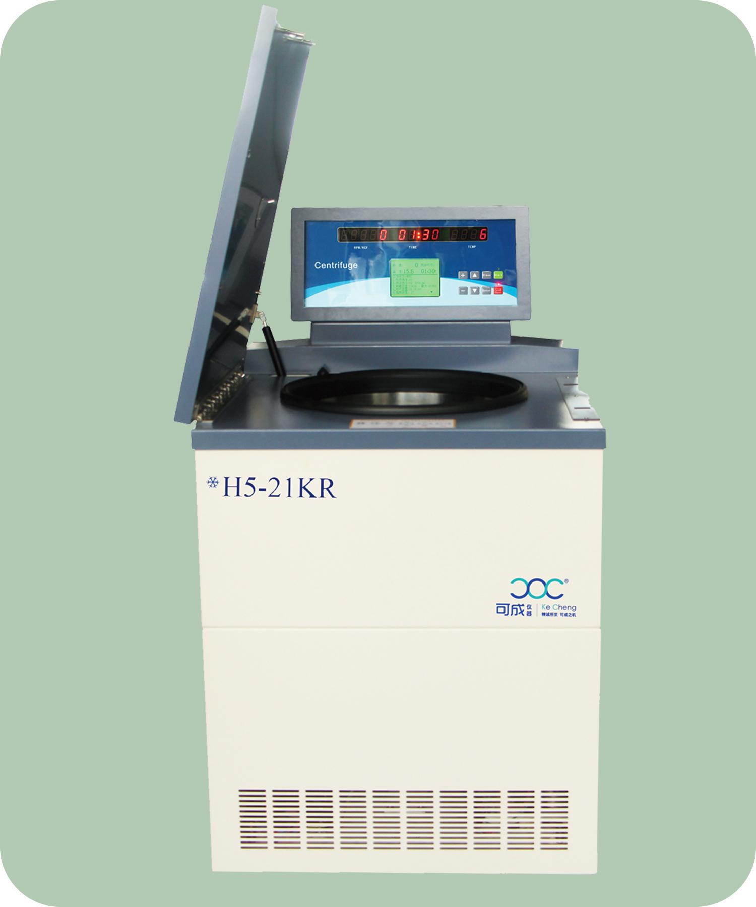 H5-21KR 可成高速冷冻大容量离心机