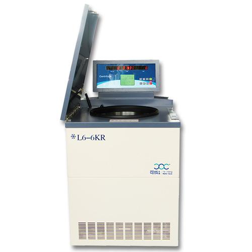 L6-6KR落地式低速冷冻离心机